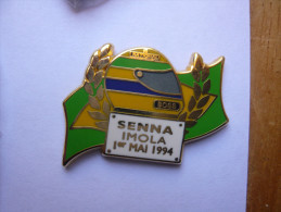 Pin S Hommage Ayrton Senna Imola Tbq - F1