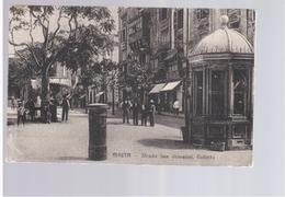 MALTA  Valletta Strada San Giovanni Ca 1920 Old Postcard - Malta