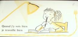 Buvard-ELECTRICITE-Ecolière-187 - Buvards, Protège-cahiers Illustrés