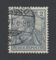 """DR Mi.Nr. 53 Germania """"REICHSPOST"""" - Used Stamps"""