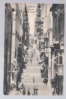 MALTA  Valletta Strada S Lucia Ca 1920 Old Postcard - Malta