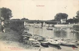 CPA 94 Val De Marne Le Perreux Bords De Marne Les Maitres Pêcheurs - Le Perreux Sur Marne