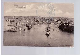 MALTA  Dockyard Creek 1914 Old Postcard - Malta