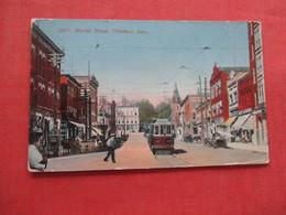 Trolley Market Street Ottumwa  Iowa     Ref 4092 - Etats-Unis