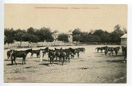 La Rochebeaucourt L'annexe Du Dépot De Remonte - France
