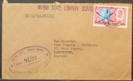 Nigeria - Cover To USA 1978 Lagos Trade Fair 18K Solo - Nigeria (1961-...)