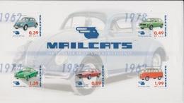 Moderne Privatpost: Mailcats Erfurt 2009. Oldtimer VW. Block 4 Postfrisch. - Coches