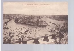 MALTA Le Fort Saint Ange Ca 1920 Old Postcard - Malta