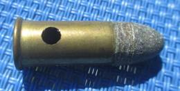 Munition Cartouche 320 Anciennes  à L'unité Idéale à Côté Revolver,  Neutralisé  MG.CO 320 - Armes Neutralisées