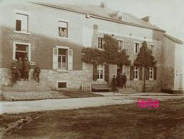 PHOTO : BOUSSU LEZ WALCOURT Occupation Allemande 1914/18 , 2 Scans - Guerra, Militares