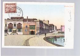 MALTA Misida Quay 1904 Old Postcard - Malta