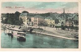 AK Bonn, Rheinwerft 1911 - Bonn