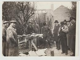 PHOTO ORIGINALE / GROUPE D'HOMMES / BETHUNE  / 1938 - Personas Anónimos