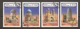 Ouzbékistan 1995 - Architecture - Route De La Soie - Série Complète° - Sc 70/3 - Usbekistan