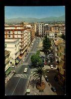 C3575 BATTIPAGLIA (SALERNO)  CORSO ROMA DALL'ALTO VG 1975 - ED. MCS - Battipaglia