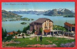 [DC6130] CPA - LAGO MAGGIORE -  VISTA DAL MOTTARONE - PERFETTA - Viaggiata 1930 - Old Postcard - Verbania
