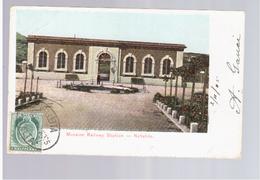 MALTA Museum Railway Station Notabile 1905 Old Postcard - Malta
