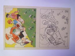"""2020 - 5739  IMAGE à Colorier  PUB  """"NESTLE""""  (format 13,5 X 21cm)   XXX - Publicités"""
