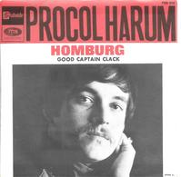 "SP 45 RPM (7"") Procol Harum   ""  Homburg  "" - Vinyl Records"