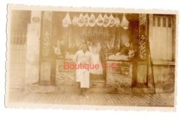 Photo Devanture Boucherie Homme Viande 11x7 Cm - Lugares