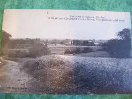 TRÈS RARE - BUSSAC-SUR-CHARENTE - LE BOURG VUE GÉNÉRALE COTE NORD - ENVIRONS DE SAINTES (CHARENTE INFÉRIEURE) - Autres Communes