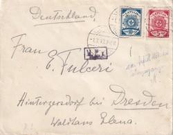 LETTONIE 1919 LETTRE DE KULDIGA - Letonia