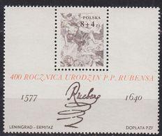 POLEN POLAND [1977] MiNr 2501 Block 67 ( **/mnh ) Gemälde - 1944-.... Republic