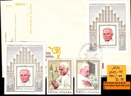 POLEN POLAND [1979] MiNr 2629-31 ( **/mnh ) [01] Religion Satz, Block, FDC - 1944-.... Republic