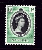 Nigeria 79 MNH 1953 QEII Coronation .. - Nigeria (1961-...)