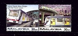 Malaysia 619 - 20 MNH 1997 Light Rail Transit System .. - Malaysia (1964-...)