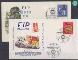 BRD   Ersttagsbrief    MiNr. 516-517                 2  Briefe - FDC: Briefe