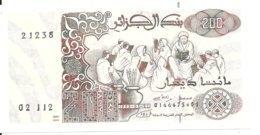 ALGERIE 200 DINARS 1983 UNC P 138 - Argelia