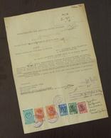 Serbia 1948 Serbia JUDICIAL Revenues On Document B2 - 1945-1992 République Fédérative Populaire De Yougoslavie