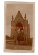 Photo Eglise Chapelle Femme Coiffe Enfant Garcon 11,5x7 Cm - Persone Anonimi
