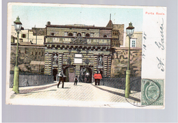 MALTA Porta Reale 1905 Old Postcard - Malta