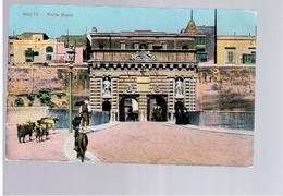 MALTA Porta Reale 1915 Old Postcard - Malta