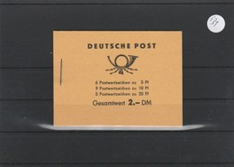 DDR    Markenheft   Postfrisch       MH-MiNr. 3 - [6] Oost-Duitsland