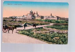 MALTA Citta Vecchia 1919 Old Postcard - Malta