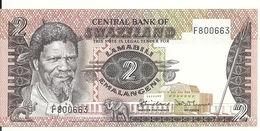 SWAZILAND 2 EMALANGENI ND1983 UNC P 8 A - Swasiland