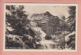 OUDE POSTKAART ZWITSERLAND - SCHWEIZ -    PONTRESINA - HOTEL - GR Grisons