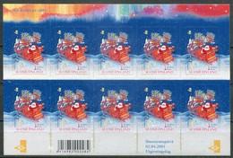 Finnland Mi# 1567 KLB Postfrisch/MNH - Christmas (oily Adhesive) - Finland