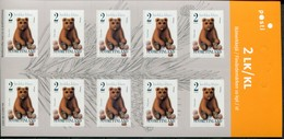 Finnland Mi# 1698 KLB Postfrisch/MNH - Fauna Bear - Finland