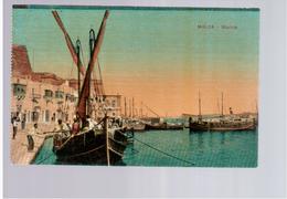 MALTA Marina Ca 1915 Old Postcard - Malta