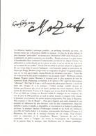DOCUMENT ENCART FDC 1991 MOZART - Documenten Van De Post