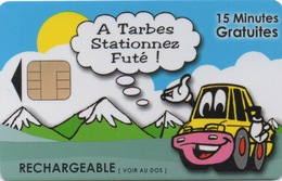 Carte De Stationnement PIAF : Tarbes Hautes-Pyrénées - France