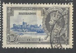 Barbados - 1935 - Usato/used - Silver Jubilee - Mi N. 149 - Barbados (...-1966)