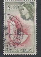 Barbados - 1953 - Usato/used - Ordinari - Mi N. 214 - Barbados (...-1966)