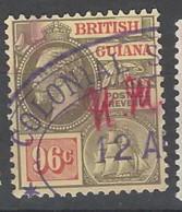 British Guiana - 1927 - Usato/used - King George V - Mi N. 150 - Guyana Britannica (...-1966)