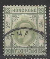 Hong Kong - 1903 - Usato/used - King Edward VII - Mi N. 62 - Hong Kong (...-1997)