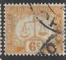 Hong Kong - 1924 - Usato/used - Segnatasse - Mi N. 4 - Hong Kong (...-1997)